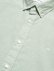 Calvin Klein - BUTTON DOWN COTTON L - basic overhemden - granite green - 2