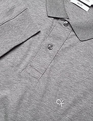 Calvin Klein - LIQUID TOUCH LONG SLEEVE POLO - lange mouwen - mid grey heather - 2