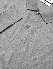 Calvin Klein - LIQUID TOUCH LONG SLEEVE POLO - polos à manches longues - mid grey heather - 2