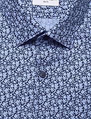 Calvin Klein - FLOWER PRINT SLIM SHIRT - business shirts - blue - 2