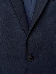 Calvin Klein - BI-STRETCH HOUNDSTOOTH BLAZER - enkelknäppta kavajer - calvin navy - 2