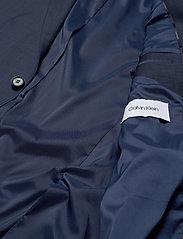 Calvin Klein - BI-STRETCH HOUNDSTOOTH BLAZER - enkelknäppta kavajer - calvin navy - 4