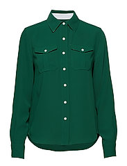 POLICE PKT SHIRT LS - GREEN