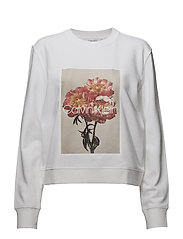 PRT GRAPHIC  SWEATSH - WHITE
