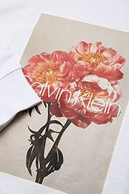 Calvin Klein - PRT GRAPHIC  SWEATSH - sweats - white - 2