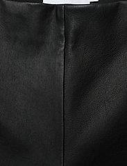 Calvin Klein - ESSENTIAL LEATHER MIX LEGGING - lederhosen - calvin black - 3