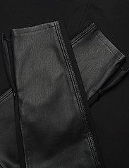 Calvin Klein - ESSENTIAL LEATHER MIX LEGGING - lederhosen - calvin black - 5