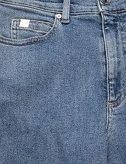 Calvin Klein - WIDE LEG CROP PANT - broeken met wijde pijpen - natal blue - 2