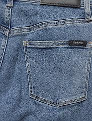 Calvin Klein - WIDE LEG CROP PANT - broeken met wijde pijpen - natal blue - 4
