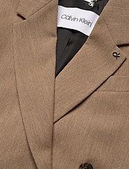 Calvin Klein - WOOL DB BLAZER - getailleerde blazers - hazel melange - 2