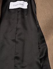 Calvin Klein - WOOL DB BLAZER - getailleerde blazers - hazel melange - 4