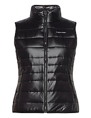 LT PACKABLE DOWN VEST - CK BLACK