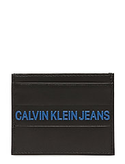 LOGO STRIPE CARD CAS - BLACK