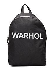 WARHOL TEXT CP BP NO POCKET - BLACK