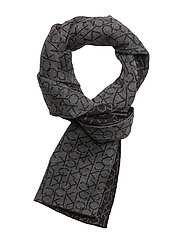POWER LOGO SCARF - BLACK