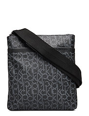 CK MONO FLAT CROSSOV - BLACK MONOGRAM