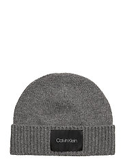 CUFF BEANIE - MID GREY HEATHER B38 - VOL39