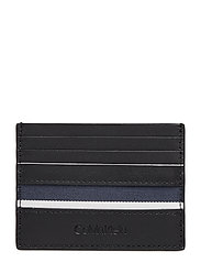 STRIPE CARDHOLDER - BLACK