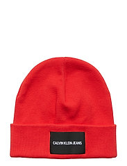 J INSTITUTIONAL BEANIE - RACING RED