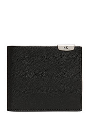 CKJ MICRO PEBBLE BILLFOLD - BLACK