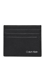 CK QT POCKET CARD HOLDER - BLACK