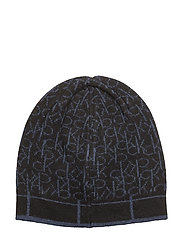 CK MIX BEANIE - OMBRE BLUE/BLACK