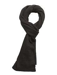 CK TWIST SCARF - BLACK