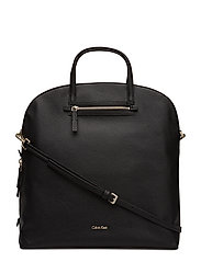 DOME LARGE TOTE - BLACK
