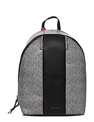 COSMOPOLITAN BACKPAC - BLACK/SNAKE