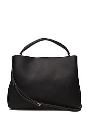 SLEEK LARGE TOTE - BLACK