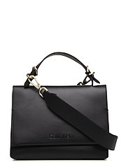 SERENE SMALL SATCHEL - BLACK