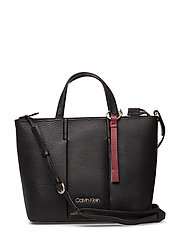 CITY LEATHER MEDIUM - BLACK