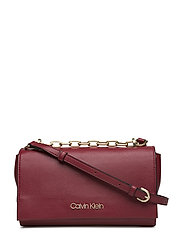 FRAME SHOULDER BAG, - RED ROCK