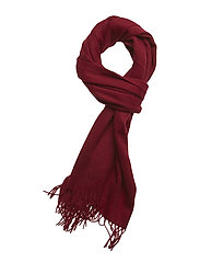 CLASSIC WOOL SCARF W - RED ROCK