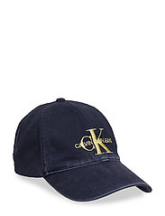 J MONOGRAM CAP W - PEACOAT