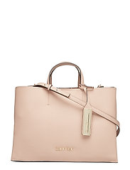 SIDED LRG TOTE - NUDE