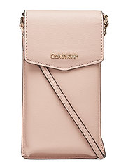 CK MUST PHONE POUCH - NUDE