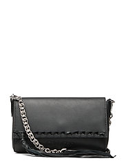FRINGE CROSSBODY, BD - BLACK