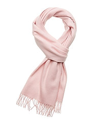 CLASSIC WOOL SCARF W - CLEAR PINK