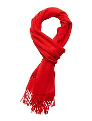 CLASSIC WOOL SCARF W - PROCESS RED