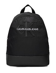 CKJ MONOGRAM NYLON CP BP 35 - BLACK