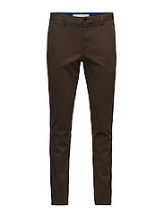 STRAIGHT FIT REFINED - DARK OLIVE