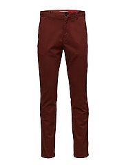 STRAIGHT FIT REFINED - IRON RED