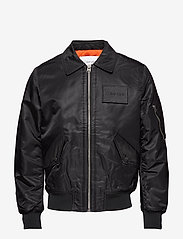 Calvin Klein - CWU FLIGHT JACKET - bomberjacks - perfect black - 0