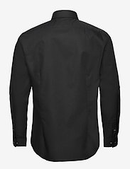 Calvin Klein - 2PLY POPLIN STRETCH SLIM SHIRT - basic shirts - df black - 1