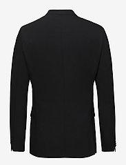 Calvin Klein - STRETCH WOOL SLIM SU - enkelknäppta kavajer - perfect black - 1