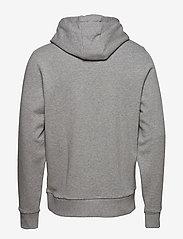 Calvin Klein - COTTON LOGO  HOODIE - hoodies - mid grey heather - 2