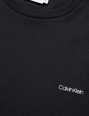 Calvin Klein - COTTON CHEST LOGO T-SHIRT - basic t-shirts - calvin black - 2
