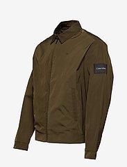 Calvin Klein - NYLON HARRINGTON JAC - light jackets - ck dark olive - 2