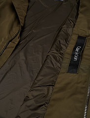 Calvin Klein - NYLON HARRINGTON JAC - light jackets - ck dark olive - 5